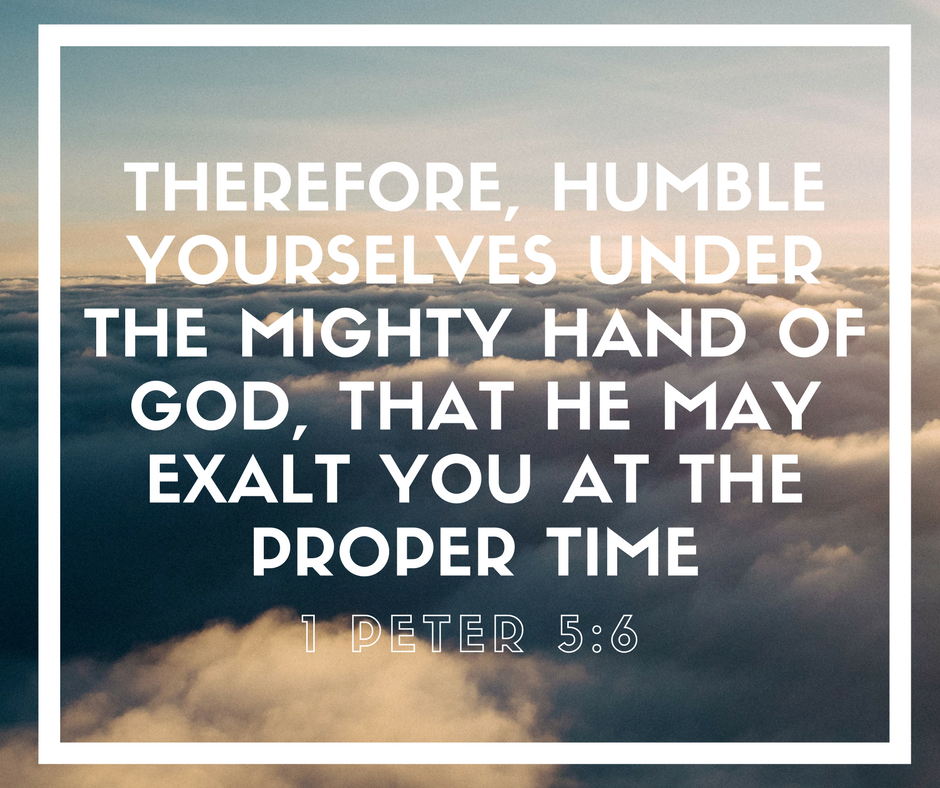 Humility 1 Peter 5:6
